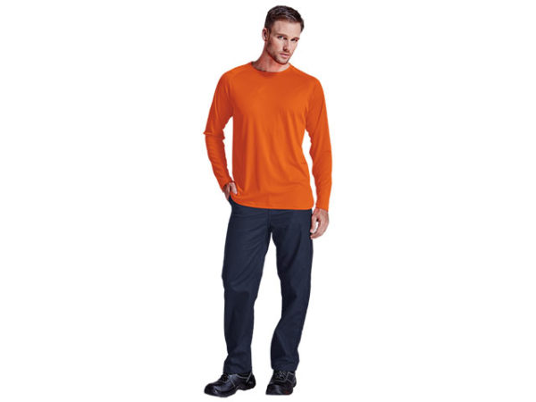 135g Long Sleeve Polyester T-Shirt