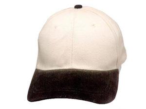 2 Tone Heavy Brushed Cap