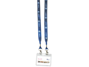 20Mm Dye Sublimation Open Lanyard With Pouch