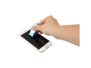 3 In 1 Keychain With Mobile Phone Holder And Screen Cleaner