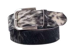 40 Mm Genuine Nguni Skin Belt