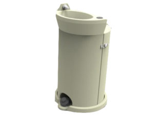 40L Wash Basin Tan