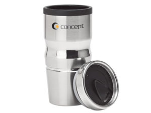420ml Stainless Steel and Polypropylene Tumbler
