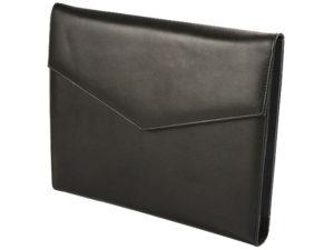 A4 Genuine Leather Stanford Tri Fold Folder