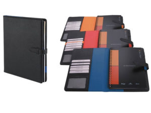 A4 Pods Trendsetter Notebook With Tab Closure