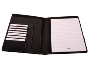 A4 Stratford Bonded Leather Folder