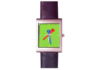 African Theme Wrist Watch