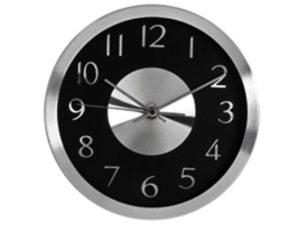 Aluminium Face Wall Clock
