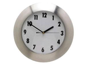 Aluminium Star Wall Clock