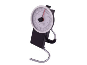 Analogue Luggage Scale And Tape Measure