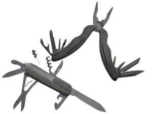 Assagai Black Tool And Knife Set
