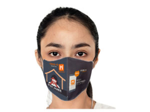 Be Safe 3 Layer Beak Mask-Ladies - Stay Home