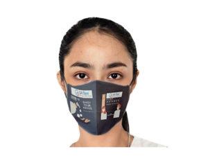 Be Safe 3 Layer Beak Mask-Ladies - Wash Hands