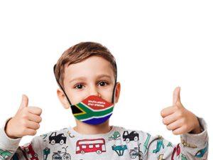 Boomer Sa Flag 3 Layer Beak Mask For Kids Age: 4-8Years