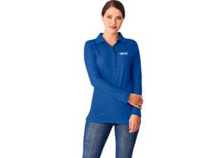 Boston Long Sleeve Ladies Golf Shirt