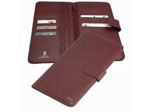 Busby Leather Berkley  Travel Document Wallet