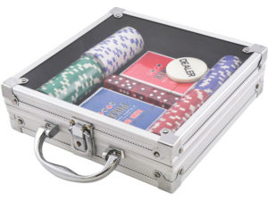 Cg11100T Poker Game Set With 100 Chi