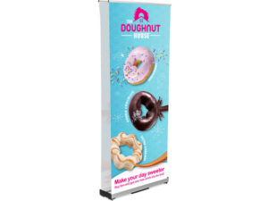 Champion Layflat Pull Up Banner Double Sided Incl Kit