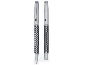Checkers Ballpen And Rollerball Set
