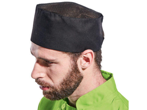 Chef Beanie With Mesh