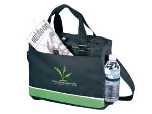 Conference Bag With Mesh Side Pocket - 600D And Sandwich Mesh
