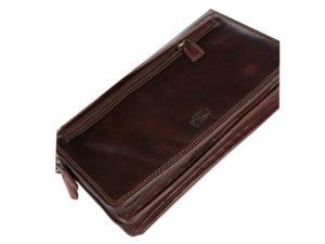 Double Zip Travel Wallet