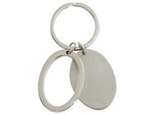 Dual Oval Keyring