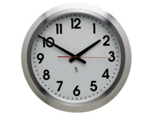 Empire Aluminium Wall Clock
