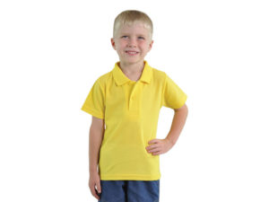 Kids Pique Knit Polo