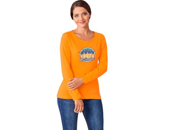 Ladies Long Sleeve Portland T-Shirt