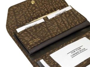 Large Ladies Cheque Book Purse