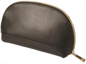 Leather Jenna Cosmetic Bag