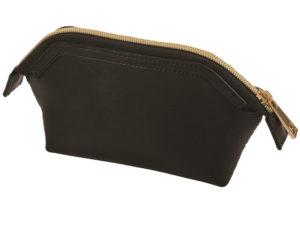 Leather Khloe Cosmetic Bag
