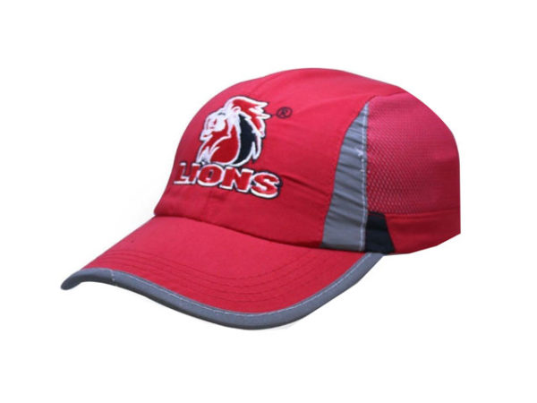Lions 6 Panel Cap- Rugby Licence Headwear