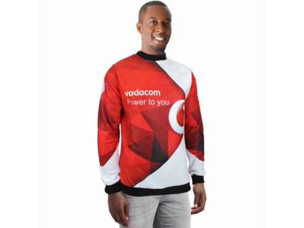 Mens Dakota Sweater With Sublimation Print