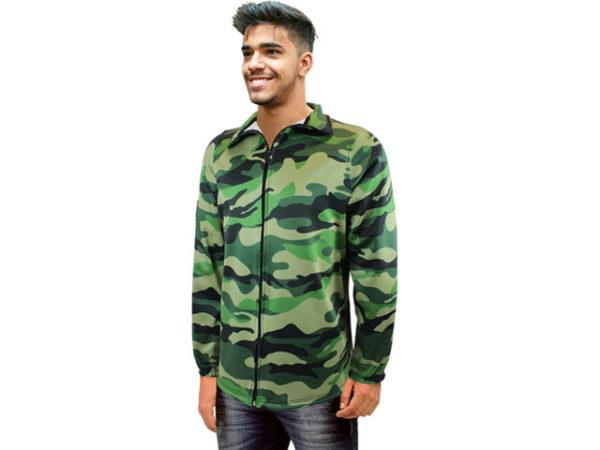 Mens Softshell Camo Jacket