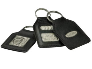 Metal Badge Keyring
