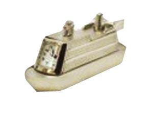 Metal Ship Desk Clock