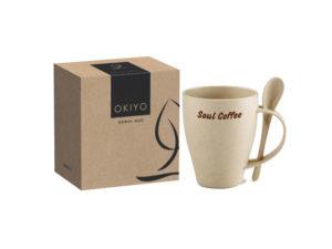 Okiyo Kawai Wheat Straw Mug Set - 350ml