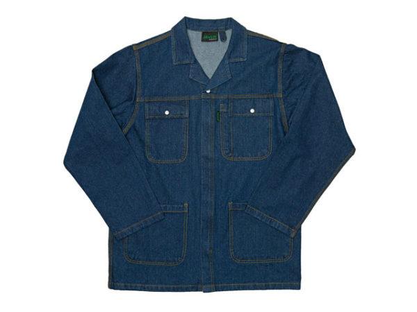 Stone Washed Heavy Duty Denim Conti Jacket