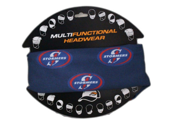 The Stormers Multi-Functional Headwear- Rugby Licence Headwear