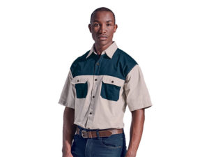Two Tone Bush Shirt