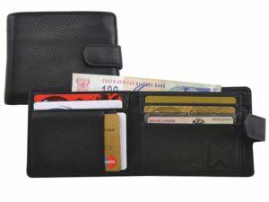 Vintage Tab Wallet